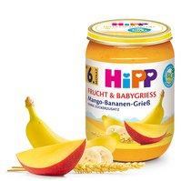 Mango z bananem i kaszką manną BIO