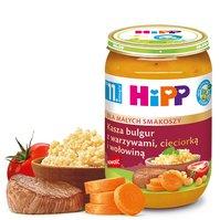 Kasza bulgur z warzywami, cieciorką i wołowiną BIO