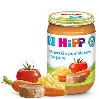 Kluseczki z pomidorami i cielęciną BIO